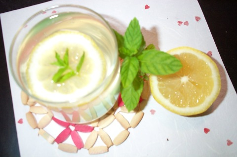 Mint n Lemon Squash